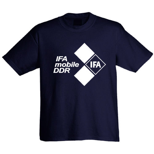 T-Shirt IFA - Mobile der DDR