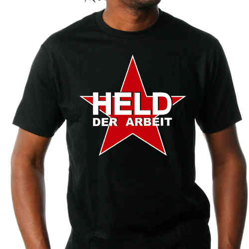 T-Shirt Held der Arbeit - Red Star