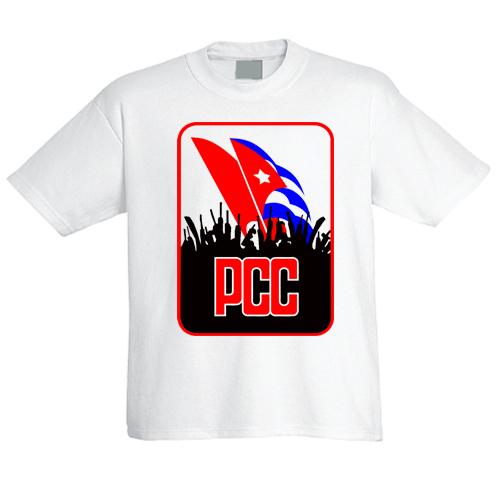 e3c31a8f T-Shirt PCC - Communist Party of Cuba