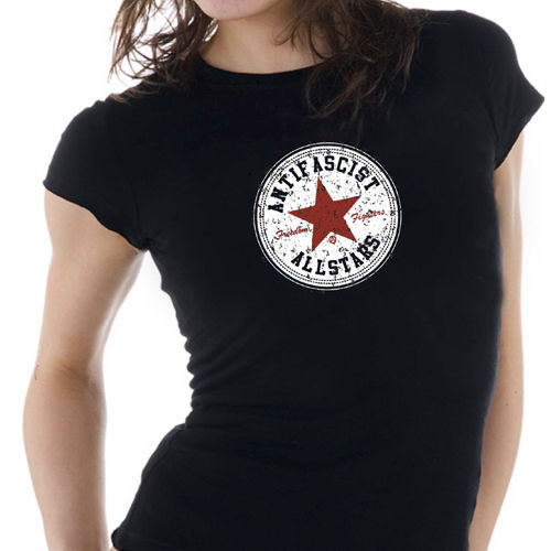 Shirt Antifascist Allstars