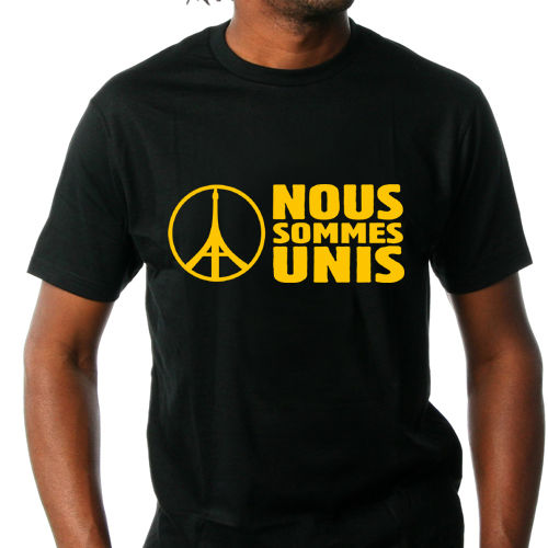 T-Shirt Peace for Paris