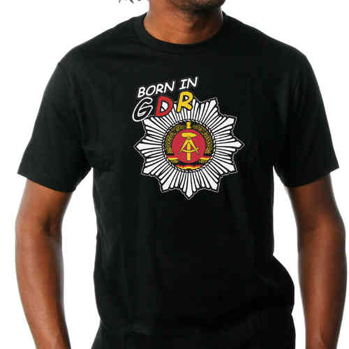 "T-Shirt ""Born in GDR"""