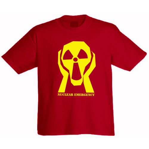 "Tee shirt ""Nuclear Emergency"""
