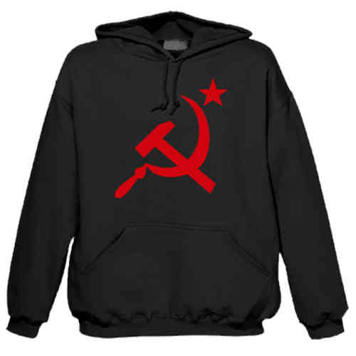 "Hoodie ""Hammer and sickle"""