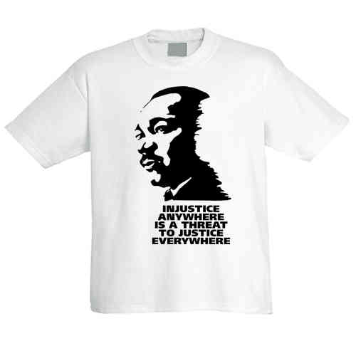"T-Shirt ""Martin Luther King jr."""