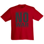 "Tee shirt ""No War"""