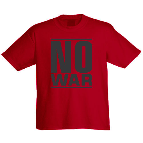 "T-Shirt ""No War"""