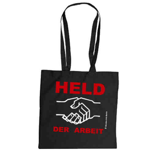"Cotton bag ""Held der Arbeit"""