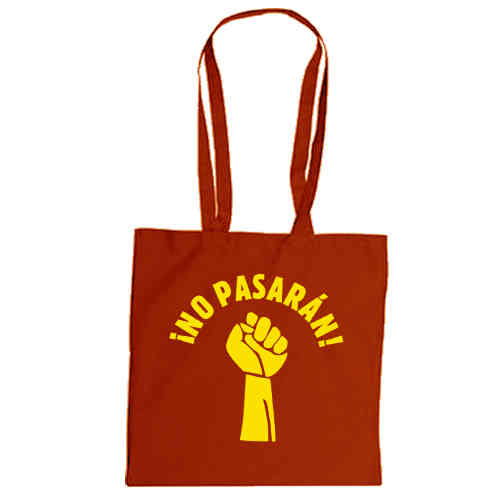 "Cotton bag ""No Pasaran!"""