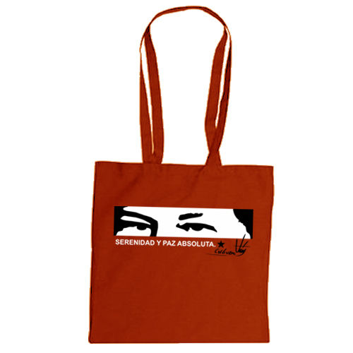 "Cotton bag ""Hugo Chávez"""