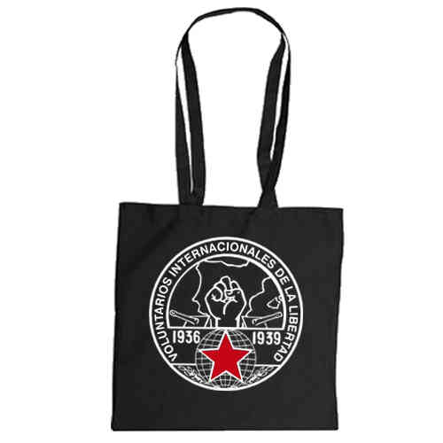 "Cotton bag  ""Internationale Brigaden"""