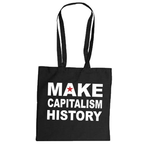 "Cotton bag ""Make Capitalism History"""
