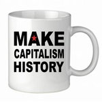 "Tasse ""Make Capitalism History"""