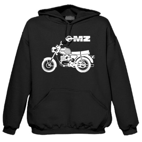 "Sweat shirt à capuche ""MZ Moto"""