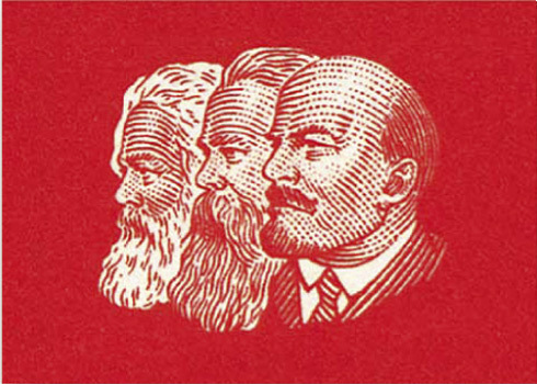 "Magnets ""Marx-Engels-Lenin"""