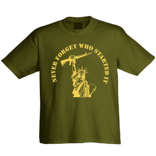 "T-Shirt ""Never forget"""