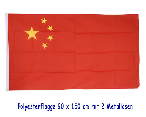 "Flagge ""China"""