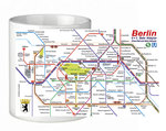 "Mug ""Berlin Railway Map"""