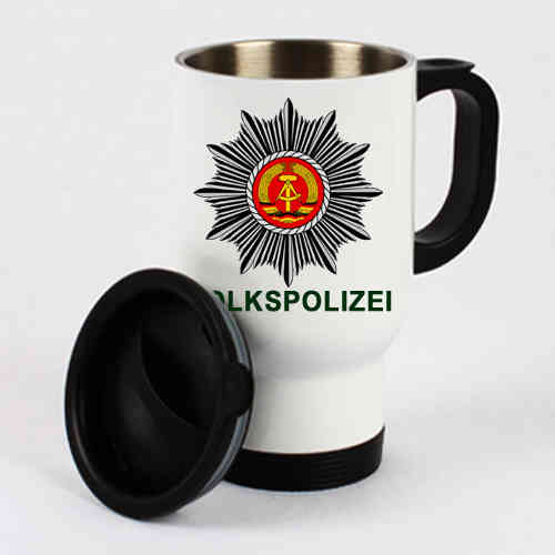 "Thermo mug ""Volkspolizei"""