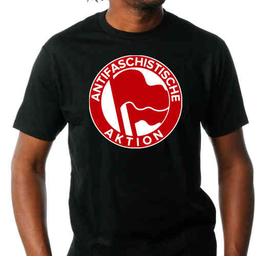 "Shirt ""Anti-Fascist Action"""