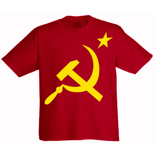 T-Shirt Hammer and Sickle