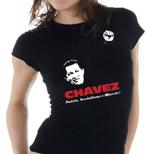 "Frauen Shirt ""Hugo Chávez"""