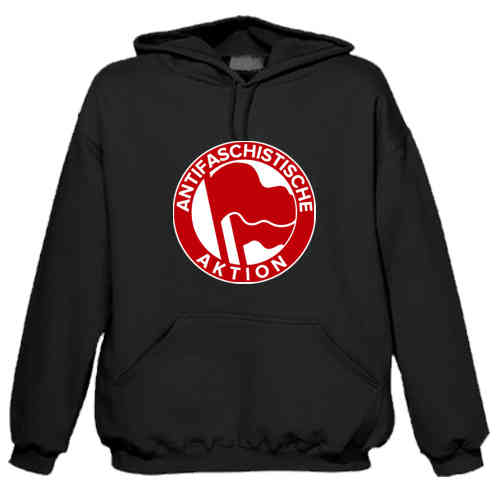 "Hoodie ""Antifascist Action"""