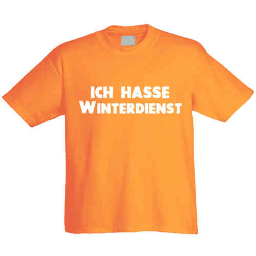 "T-Shirt ""Winterdienst"""