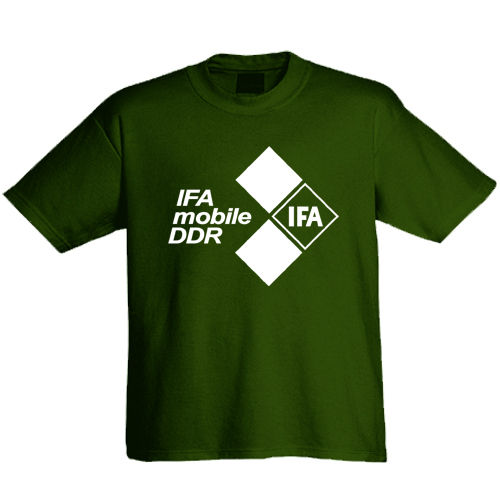 "T-Shirt ""IFA - Mobile der DDR"""