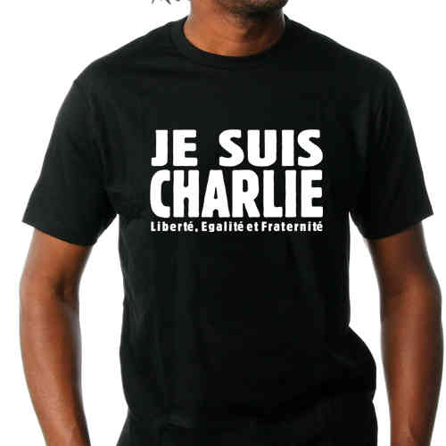 "Tee shirt ""JE SUIS CHARLIE"""