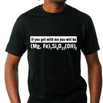 "Klæd T-Shirt ""If you get me you will be"""