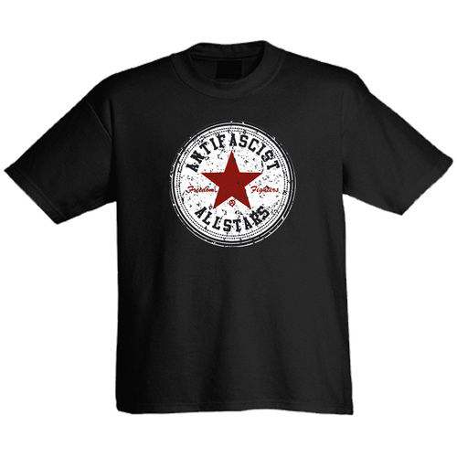 "Tee shirt ""Antifascist Allstars"""