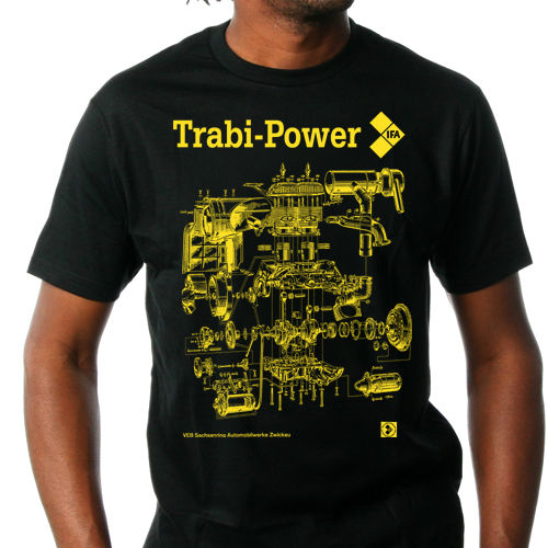 "T-Shirt ""Trabant Power"""
