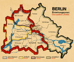 "Magnets ""Berlin Occupations Zones"""
