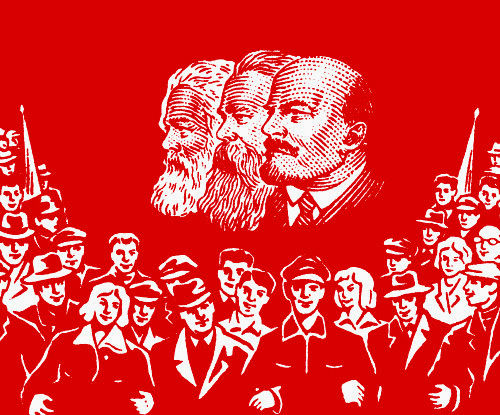 "Magnets ""Marx Engels Lenin"""
