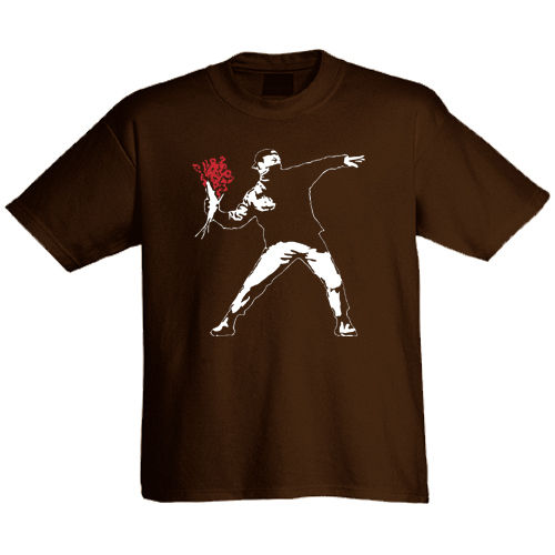 "T-Shirt ""Flowerthrower"""