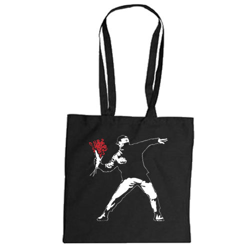 "Cotton bag ""Flowerthrower"""