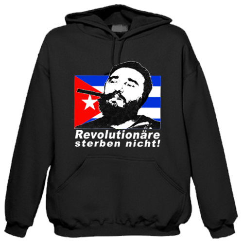 "Sweat shirt à capuche ""Fidel Castro"""