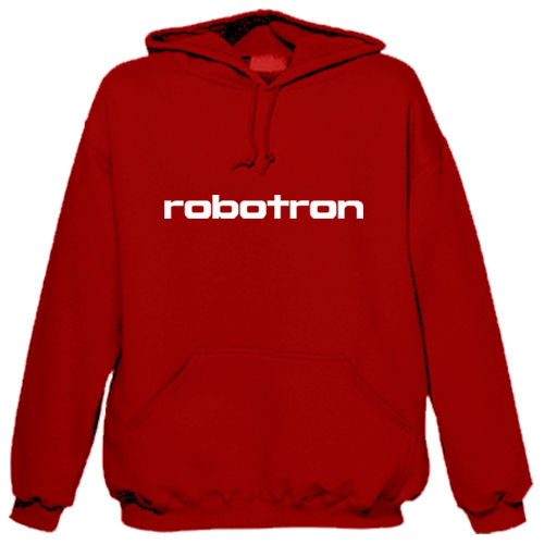 "Sweat shirt à capuche ""Robotron"""