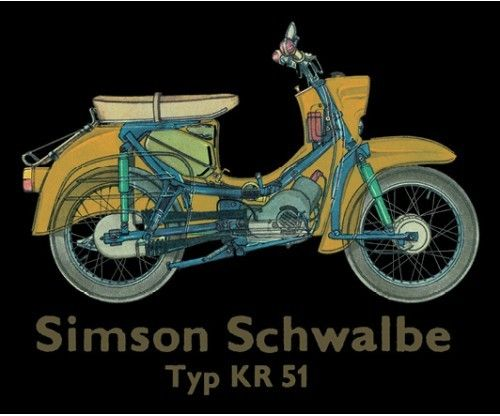 "Magnets ""Simson Schwalbe"""