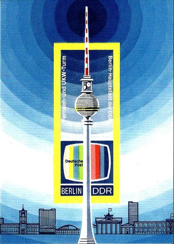 "Postcard ""Berlin TV Tower"""