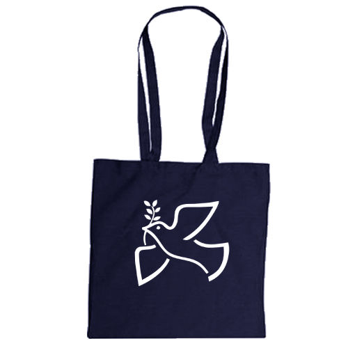 "Cotton bag ""Dove of peace"""