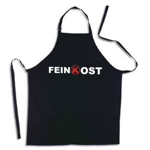 "Kitchen apron ""FEINKOST"""