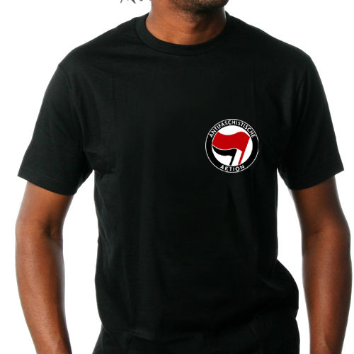"T-Shirt ""Antifaschistische Aktion"""
