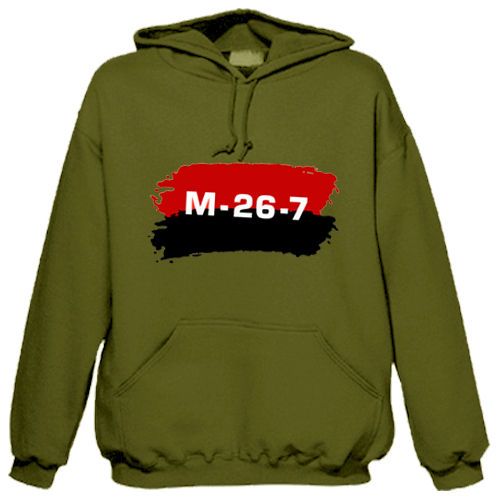 "Sweat shirt à capuche ""M-26-7"""