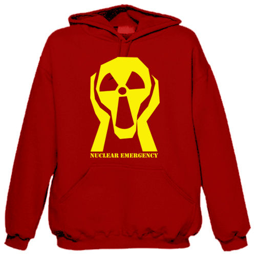 "Sweat shirt à capuche ""Nuclear Emergency"""