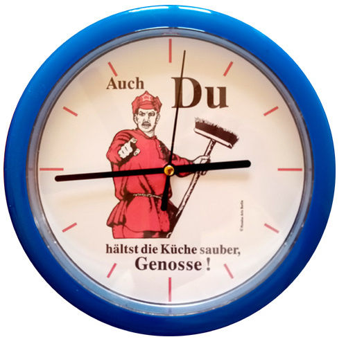 "Kitchen clock ""Genosse"""