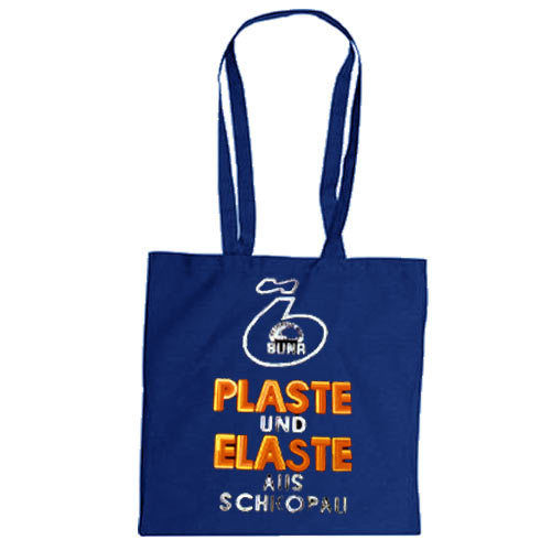 "Cotton bag ""Plaste und Elaste"""